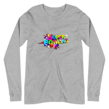 Load image into Gallery viewer, SUPER BOWLING Game Logo Unisex Long Sleeve Tee - SUPER BOWLING STORE