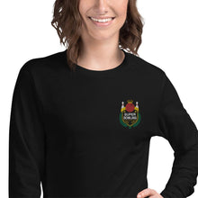 Load image into Gallery viewer, SUPER BOWLING Color-Embroidered Unisex Long Sleeve Tee - SUPER BOWLING STORE