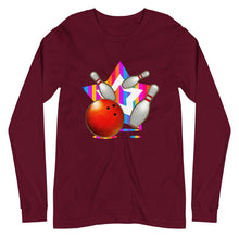 Load image into Gallery viewer, STRIKE BOWLING Unisex Long Sleeve Tee - SUPER BOWLING STORE