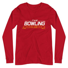 Load image into Gallery viewer, THE BOWLING CLUB Logo Unisex Long Sleeve Tee - SUPER BOWLING STORE
