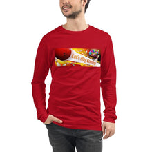 Load image into Gallery viewer, Let's Play SUPER BOWLING Unisex Long Sleeve Tee - SUPER BOWLING STORE
