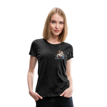Lade das Bild in den Galerie-Viewer, Damen Premium T-Shirt, Bacon pfeift - Anthrazit