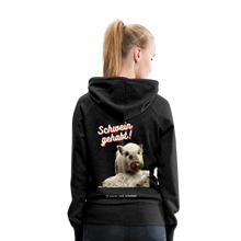 Load image into Gallery viewer, Damen Premium Hoodie, Schwein gehabt - Anthrazit