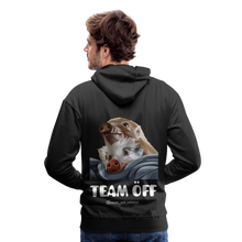 Load image into Gallery viewer, Herren Premium Hoodie, Team ÖFF - Schwarz