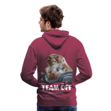 Load image into Gallery viewer, Herren Premium Hoodie, Team ÖFF - Bordeaux