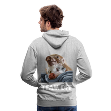 Load image into Gallery viewer, Herren Premium Hoodie, Team ÖFF - Grau meliert
