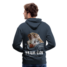 Load image into Gallery viewer, Herren Premium Hoodie, Team ÖFF - Navy