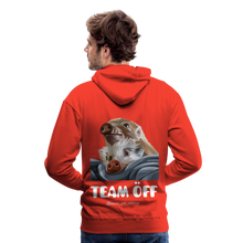 Load image into Gallery viewer, Herren Premium Hoodie, Team ÖFF - Rot