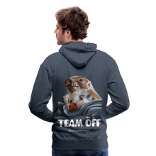 Load image into Gallery viewer, Herren Premium Hoodie, Team ÖFF - Jeansblau