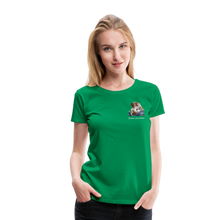 Lade das Bild in den Galerie-Viewer, Damen Premium T-Shirt, Schwein gehabt - Kelly Green