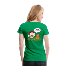 Lade das Bild in den Galerie-Viewer, Damen Premium T-Shirt, Er hat angefangen! - Kelly Green