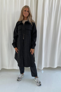 Long Emmy Jacket - Dark Grey