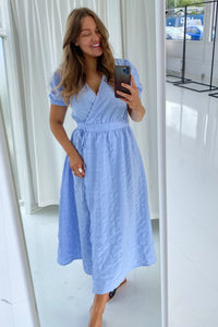 Molly Dress - Light Blue