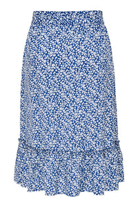 JDY Starr Midi Skirt - Blue