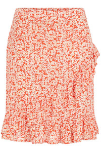 Monsi Skirt - Red Flower
