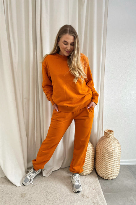 Couch Sweatpants - Orange