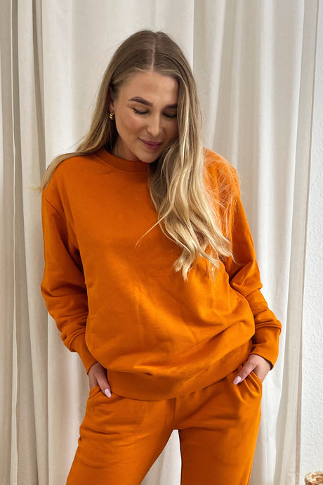 Couch Sweatshirt - Orange