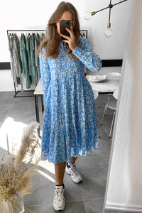 Naja Life L/S Dress - Flower Print