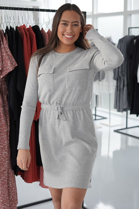 Fantasi Dress - Grey