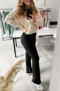 Rocky Flared Pants - Black