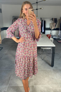 Printy Dress - Cherries Jubilee