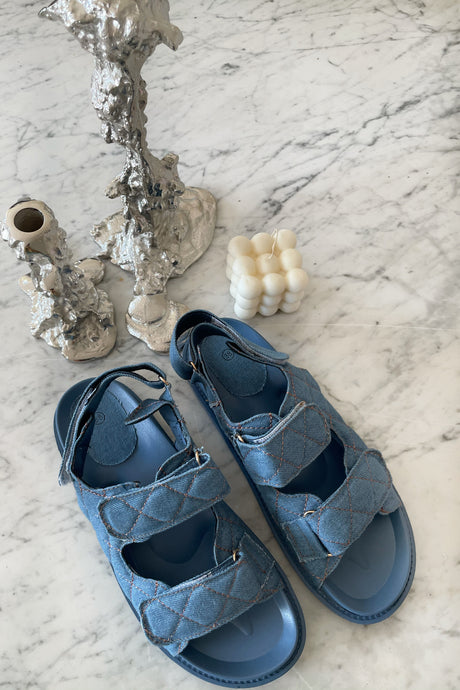 Nora Sandal - Denim