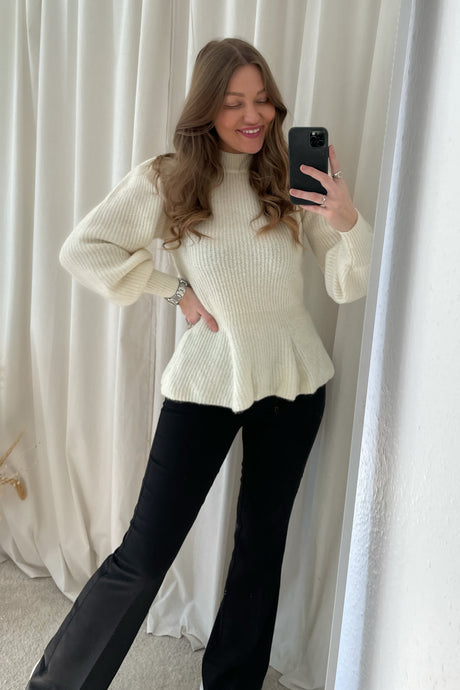 Sabbia New LS Knit - Eggnog