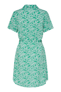 Starr Shirt Dress - Sea Green