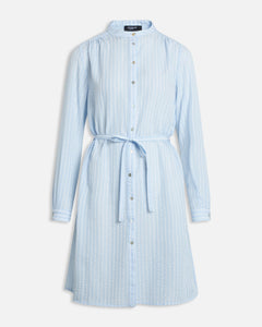 Valsi Dress - Blue Bell Stripe