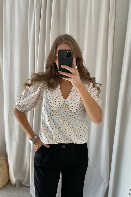 Lunia Blouse (Preorder del. week 18/19) - White