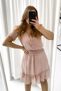 Etel Dress - Rose Flower