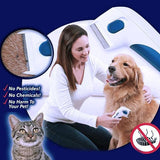 Pet Electric Hair Removal Comb - Electric flea Comb - Flea Doctor As Seen On TV Perfect for Dogs and Cats No Batteries and Chemicals ELECTRONIC FLEA COMB CLEANER
