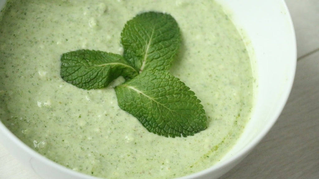 Easy Jain Mint Dip Recipe
