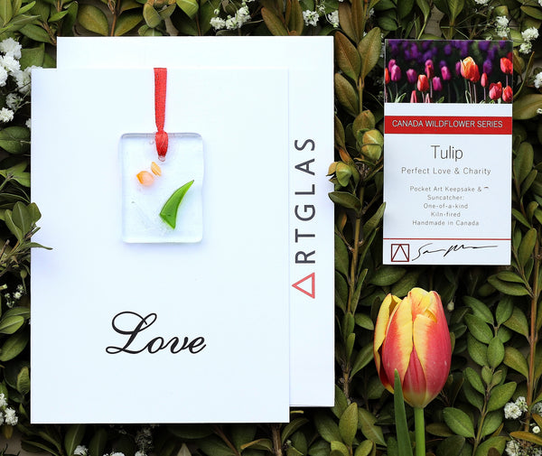 Tulip Pocket Art/Ornament and Greeting Card