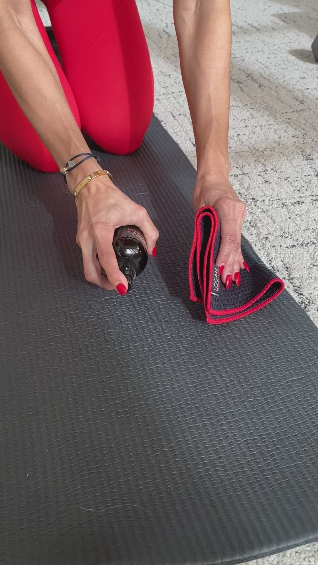 Yoga Mat & Equipment Surface Cleaner