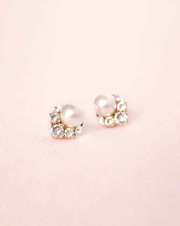 Celestial Pearl Cluster Earrings