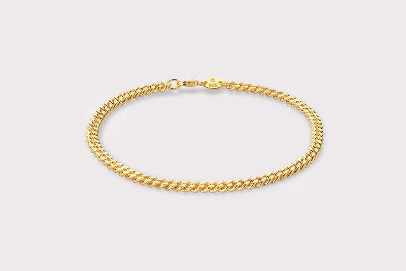 IX Curb Anklet