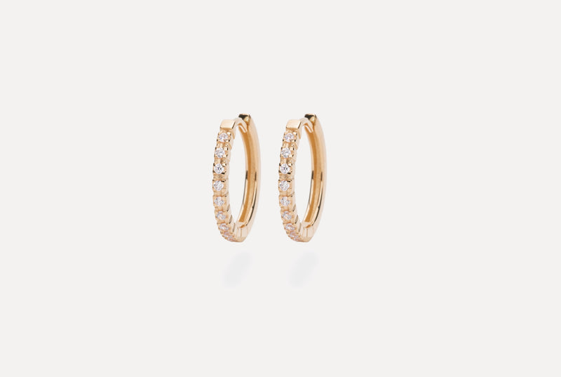 IX ETERNITY DIAMOND EARRINGS