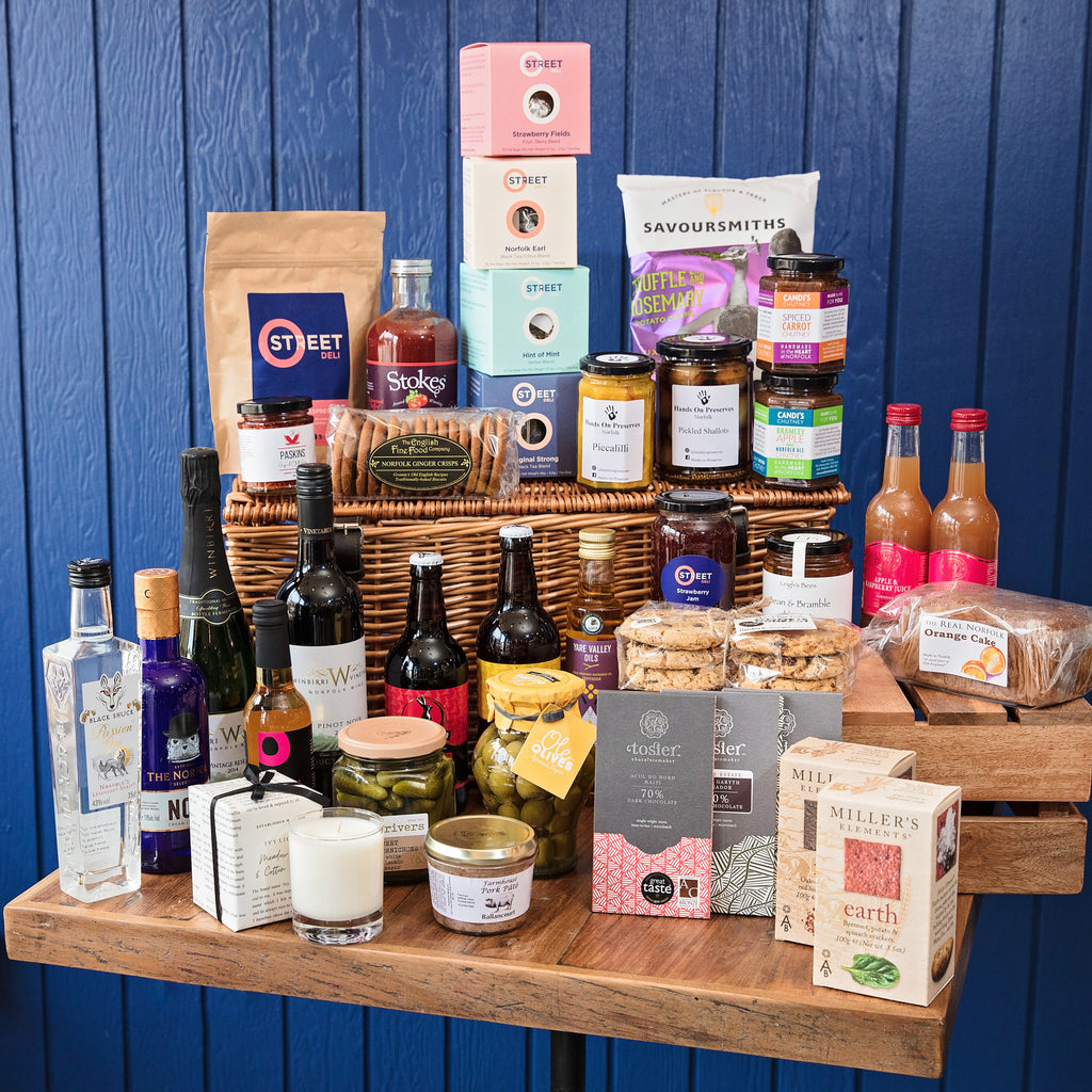 hamper, norfolk, local, treats, snacks
