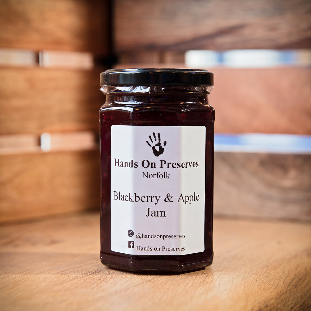 Hands On Preserves - Blackberry & Apple Jam