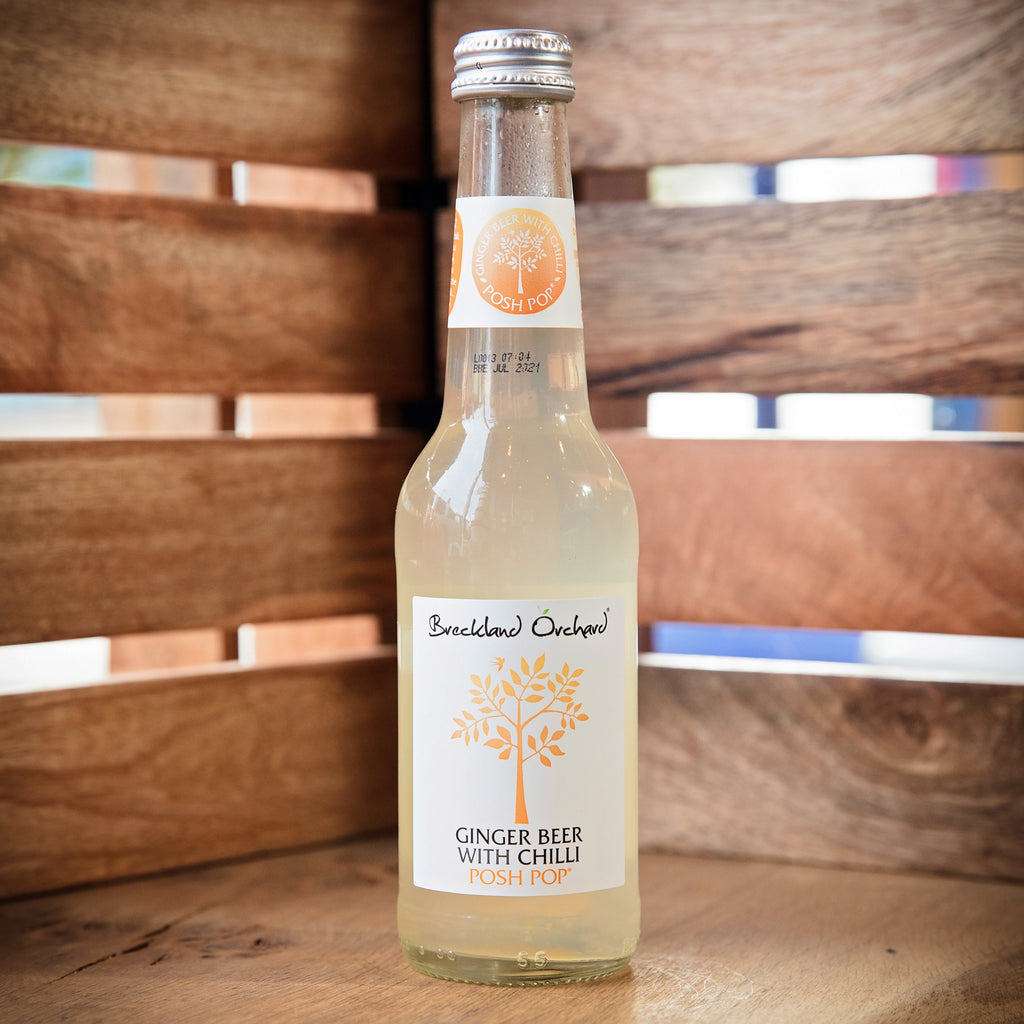 Breckland Orchard - Ginger Beer with Chilli Posh Pop (275ml)