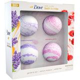 Dove Milk Swirls Bath Bombs (4.6 oz., 4 pk.)