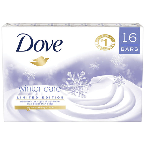 Dove Beauty Bar, Winter Care (4 oz., 16 ct.)
