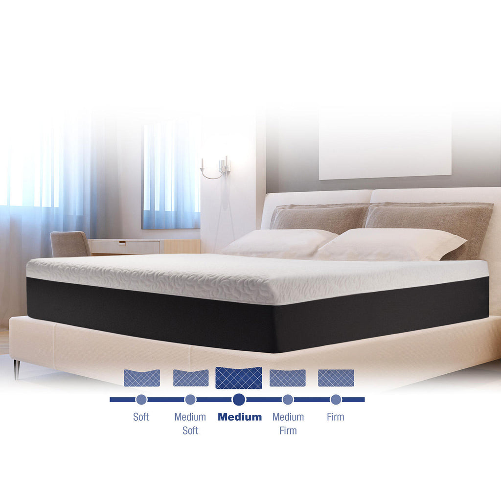 "Isotonic 12"" Plush Support Performance Queen Mattress"
