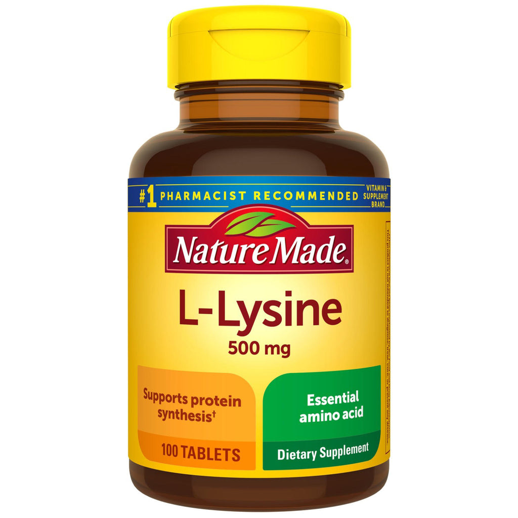 Nature Made® L-Lysine 500 mg Tablets (100 ct. ea. 3 pk.)