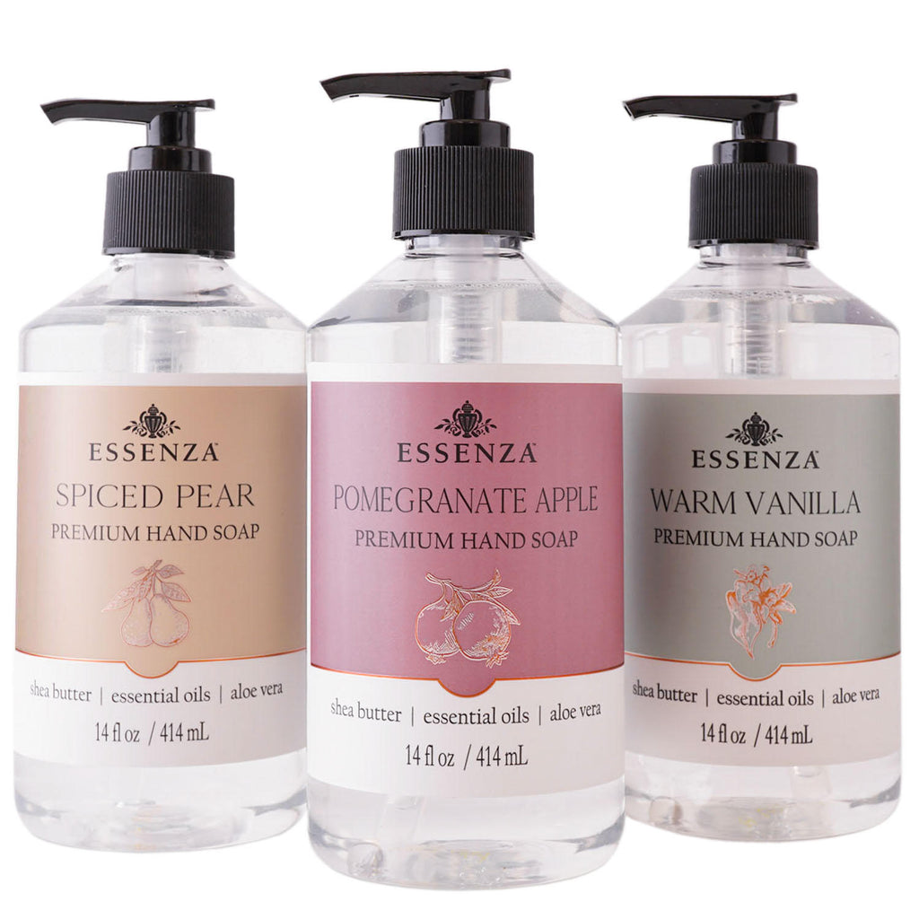 Essenza Hand Soap Collection, Premium Harvest (14 oz., ea. 3 pk)