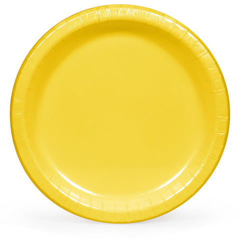 "Artstyle Yellow Paper Plates, 10"" (90 ct.)"