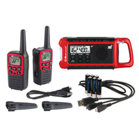 Midland Emergency Crank Radio Bundle