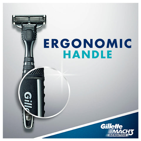 Gillette Mach3 Sensitive Disposable Razors (15 ct.)