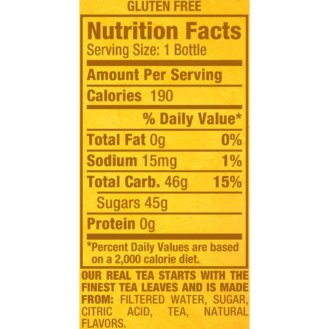 Snapple All Natural Lemon Tea (20oz / 24pk)